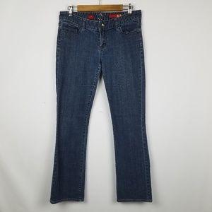 X2 w10 Express brand bootcut jeans size 8 Long